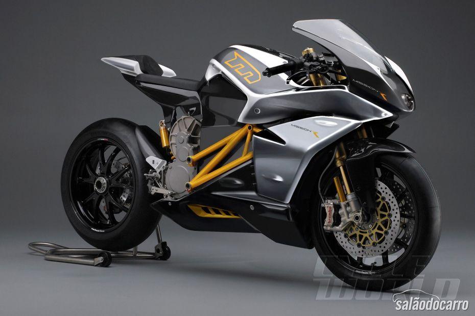 Moto Elétrica Mission RS chega aos 241 Km/h