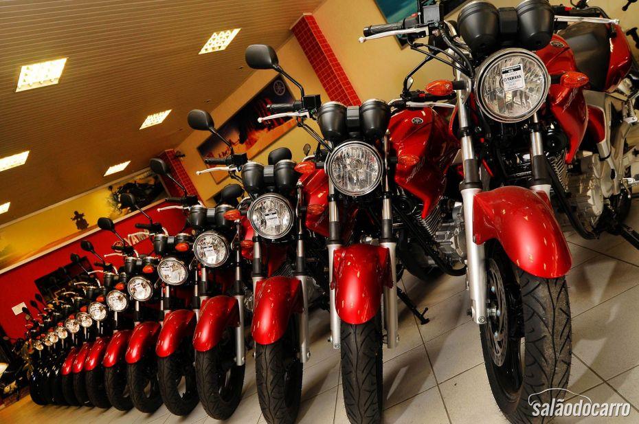 Maio teve queda na produção de motos