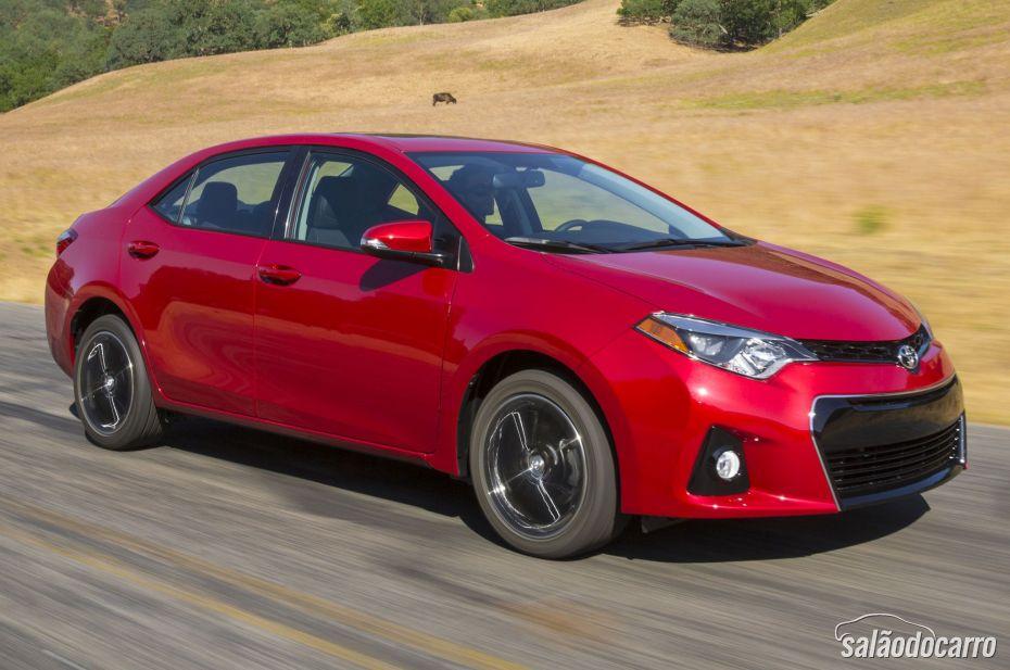 Toyota revela nova geração do Corolla nos EUA