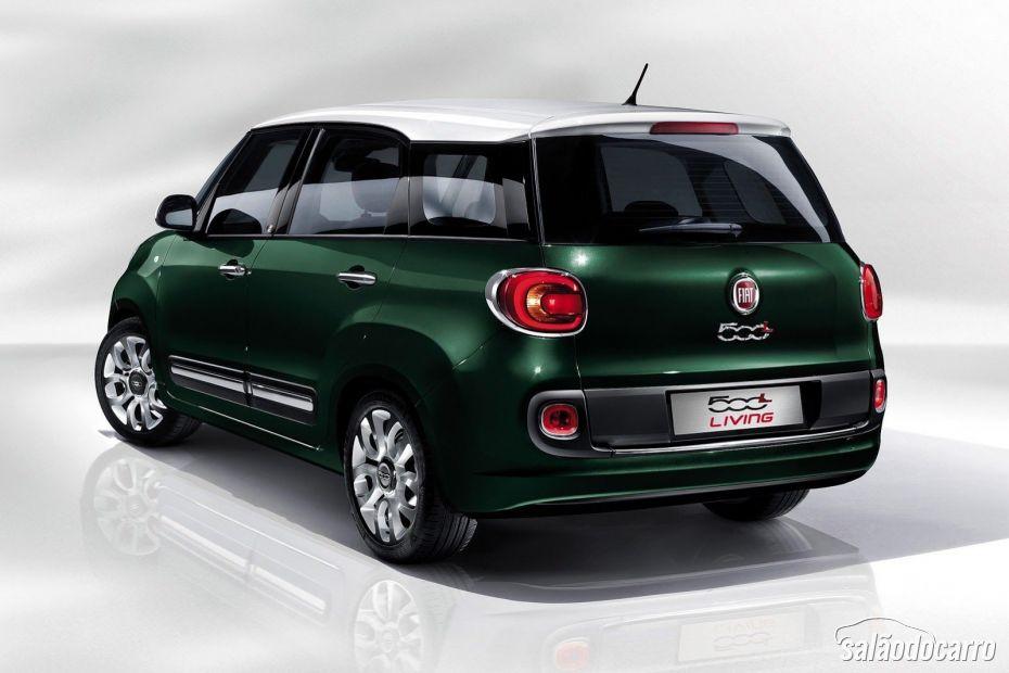 Fiat mostra 500L Living