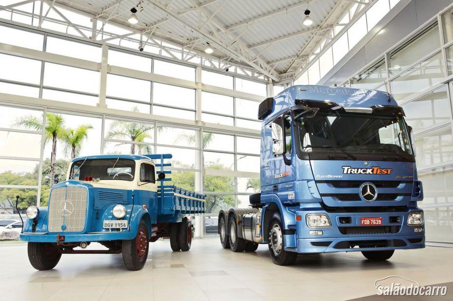 Comemoração de 2 milhões veículos comerciais vendidos pela Mercedes-Benz