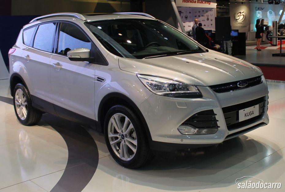 Ford apresenta 2ª geração do Kuga em Buenos Aires