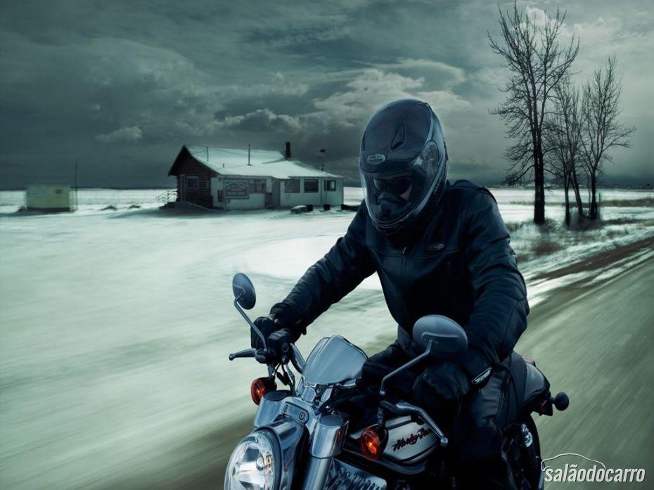 Moto no inverno