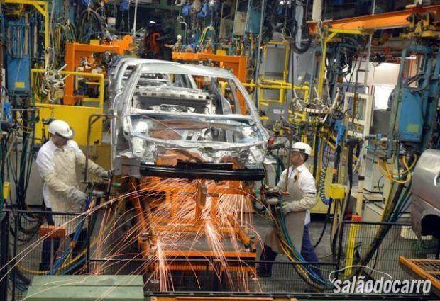 Produção de veículos no Brasil bate novo recorde