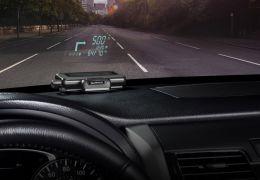 Novo GPS utiliza tecnologia HUD para exibir informações no para-brisa