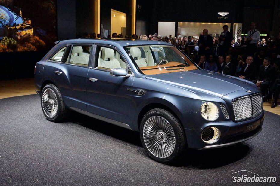 Bentley vai lançar utilitário esportivo em 2016