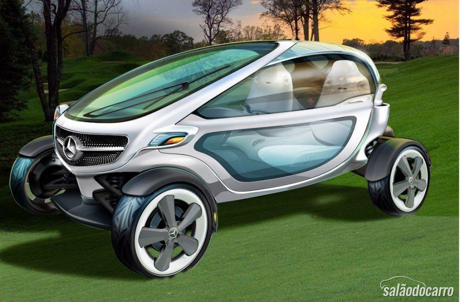 Mercedes cria conceito de carro de golfe