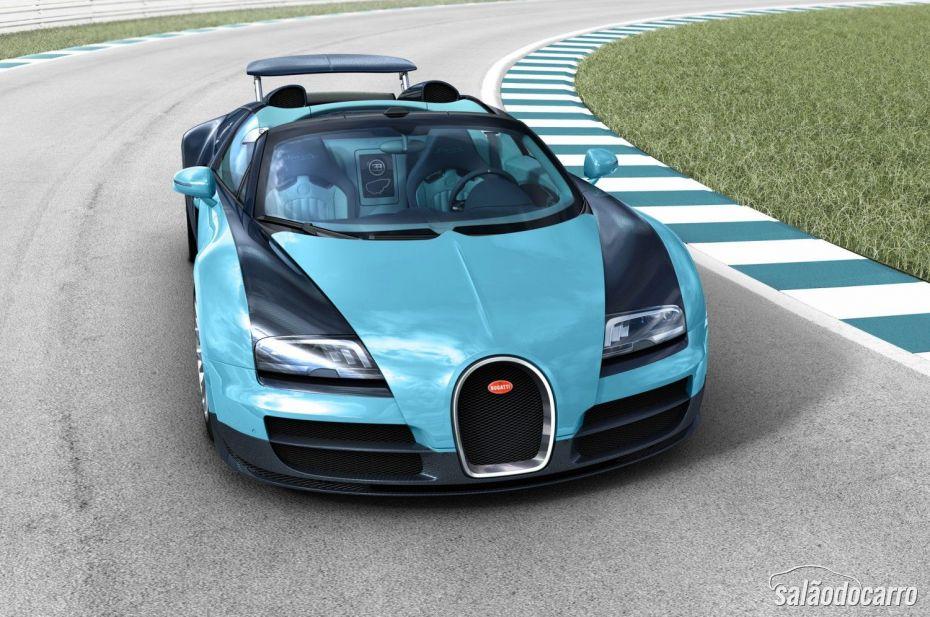"""Bugatti anuncia lançamento de edição comemorativa """"Legends"""""""