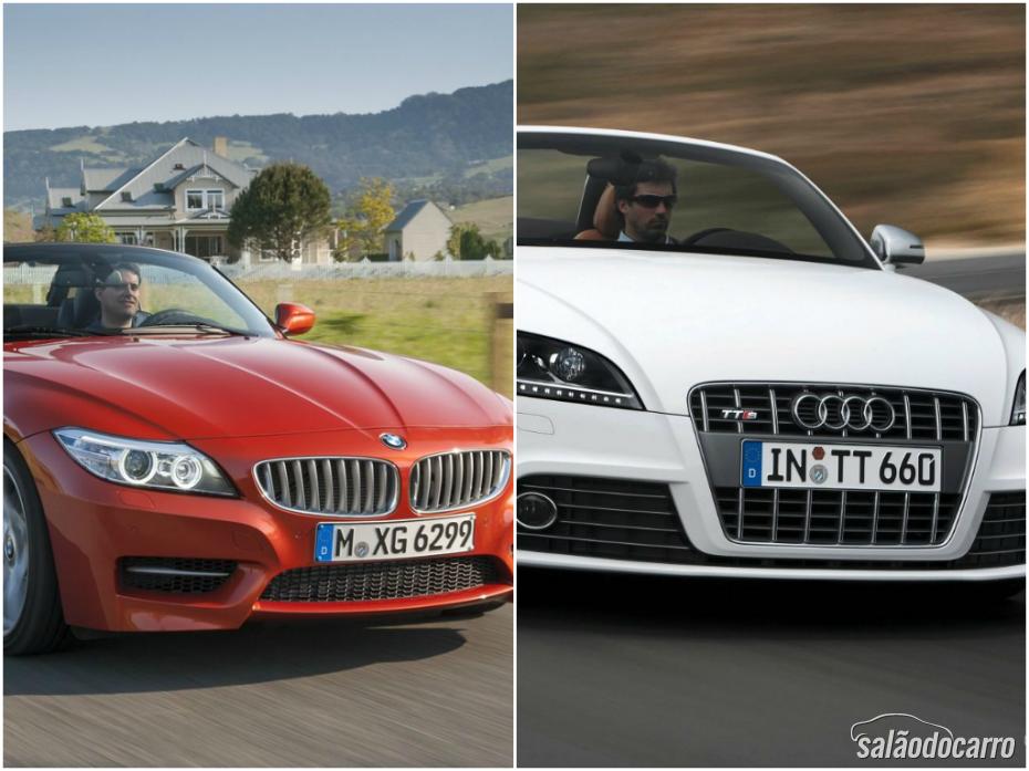 Esportivos: BMW Z4 x Audi TTS Roadster