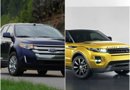 Crossovers: Ford Edge x Range Rover Evoque