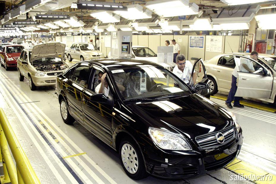 GM coloca 750 funcionários em licença remunerada