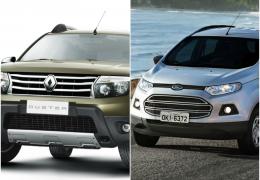 SUV's compactos: Duster x EcoSport