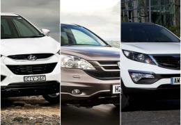 SUV's: ix35 x CR-V x Sportage