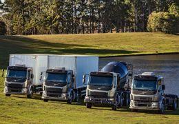 Apresentação da nova linha VM da Volvo
