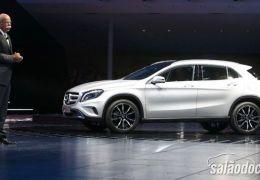 Mercedes-Benz GLA é um dos destaques do Salão de Frankfurt