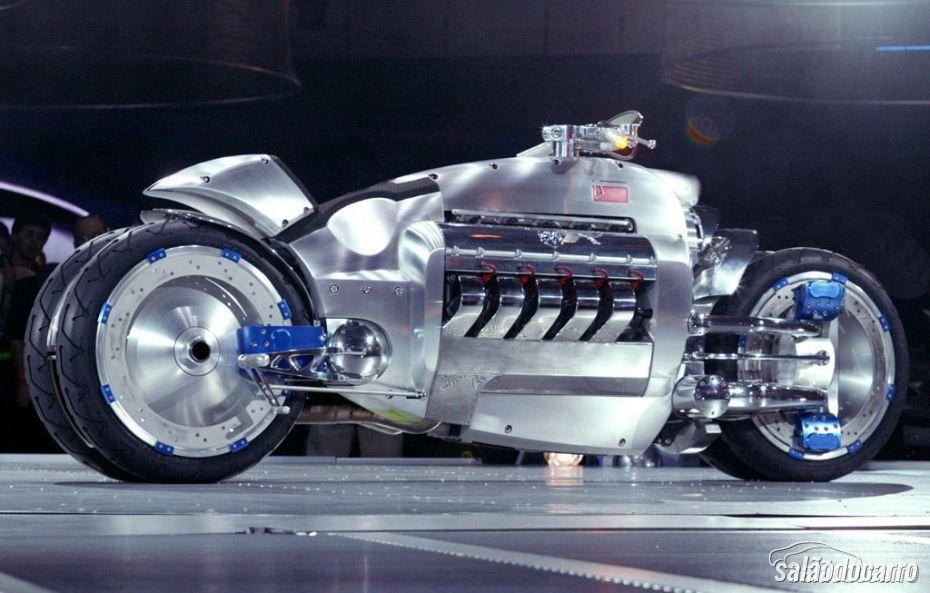 Dodge Tomahawk: a moto mais rápida e cara do mundo
