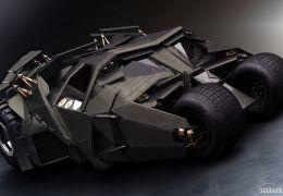 Batmóvel - Sim, ele existe de verdade!