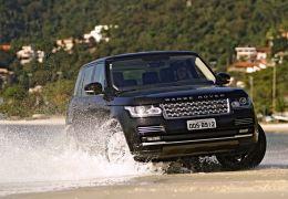 Teste do Range Rover Vogue SE