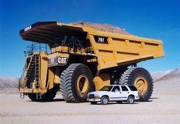 Cartepillar 797 - Maior Caminhão do Mundo