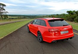 Teste do novo Audi RS6 Avant