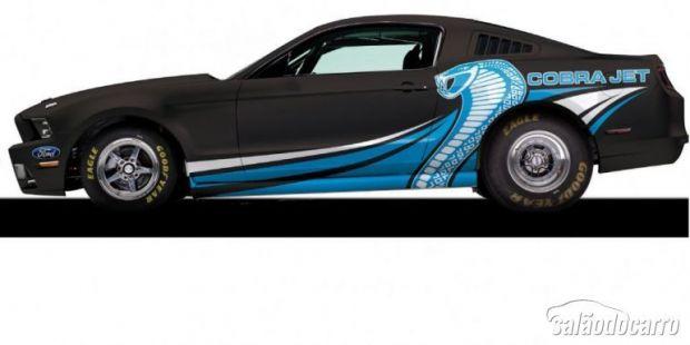 Ford Mustang Cobra Jet 2014: um dos carros mais cobiçados do Mundo