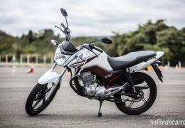 Honda CG 2014 apresenta um maior tanque de gasolina