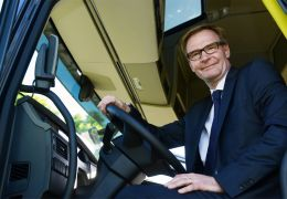 Entrevista com Olof Persson, CEO e presidente do Grupo Volvo