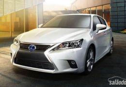 Lexus CT 200h 2014 ganha novo visual