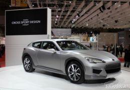 Subaru apresenta Cross Sport Design Concept no Salão de Tóquio
