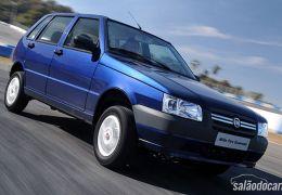 Fiat prepara edição comemorativa Grazie, do Uno Mille