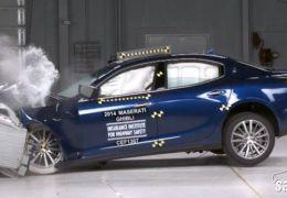 Maserati Ghibli é eleito a melhor escolha de segurança do IIHS