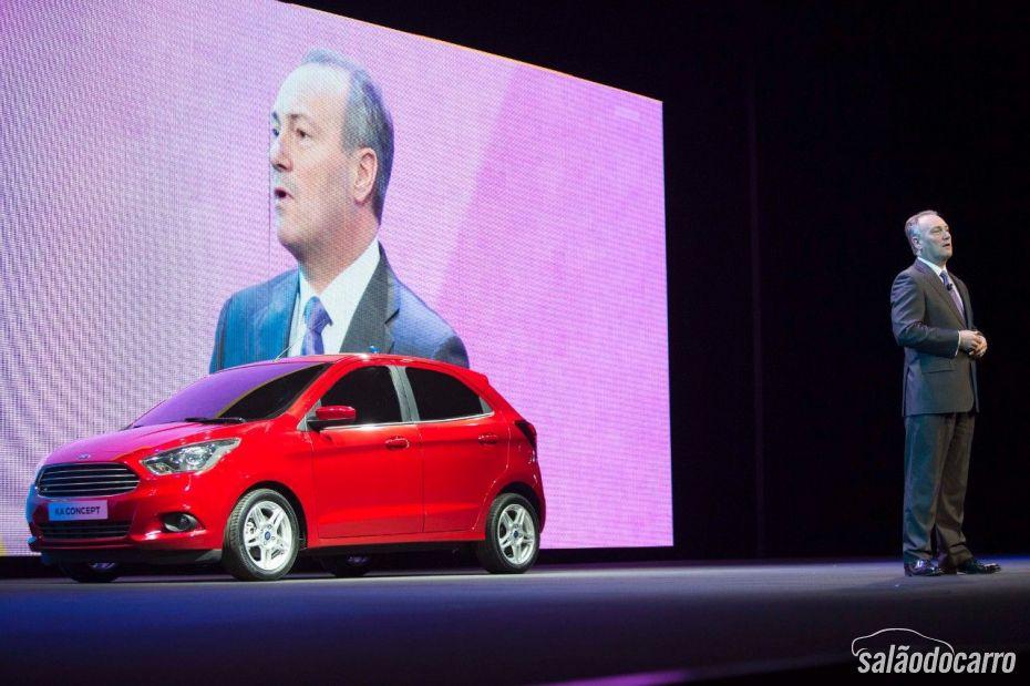 Ford mostra o Ka Concept na Europa