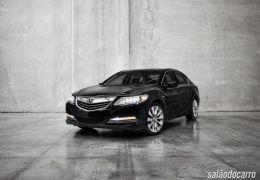 Acura lança seu primeiro híbrido: RLX Sport