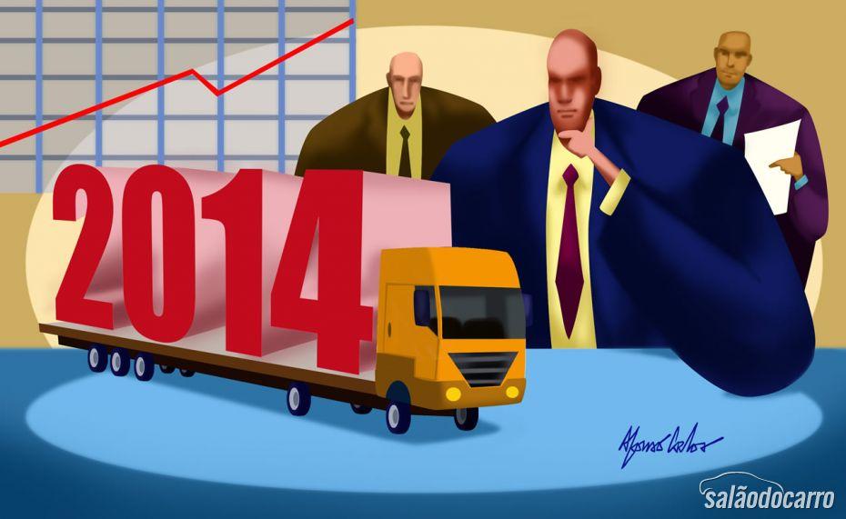 Perspectivas 2014: Caminhões