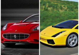Ferrari California x Lamborghini Gallardo