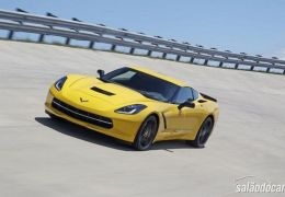 Chevrolet Corvette Z06 2015 será apresentado no Salão de Detroit