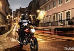 Yamaha altera visual da YBR 125, apresentada em Paris