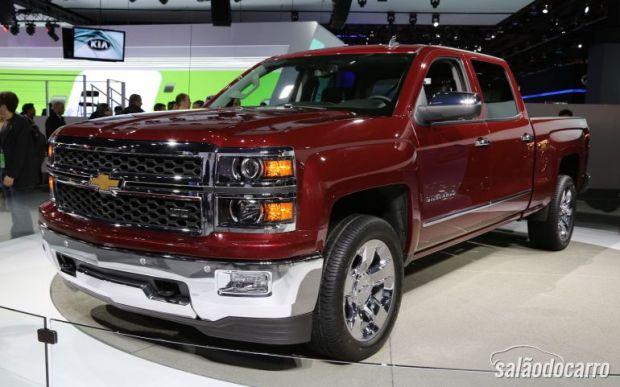 Chevrolet renova Silverado para 2014 - Lançamentos - Salão ...