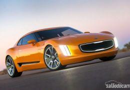 Kia apresenta conceito GT4 Stinger no Salão de Detrot