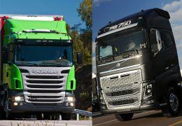 Scania e Volvo comemoram resultados de 2013 e revelam planos para 2014