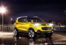 Chevrolet Adra é apresentado no Salão de Nova Deli