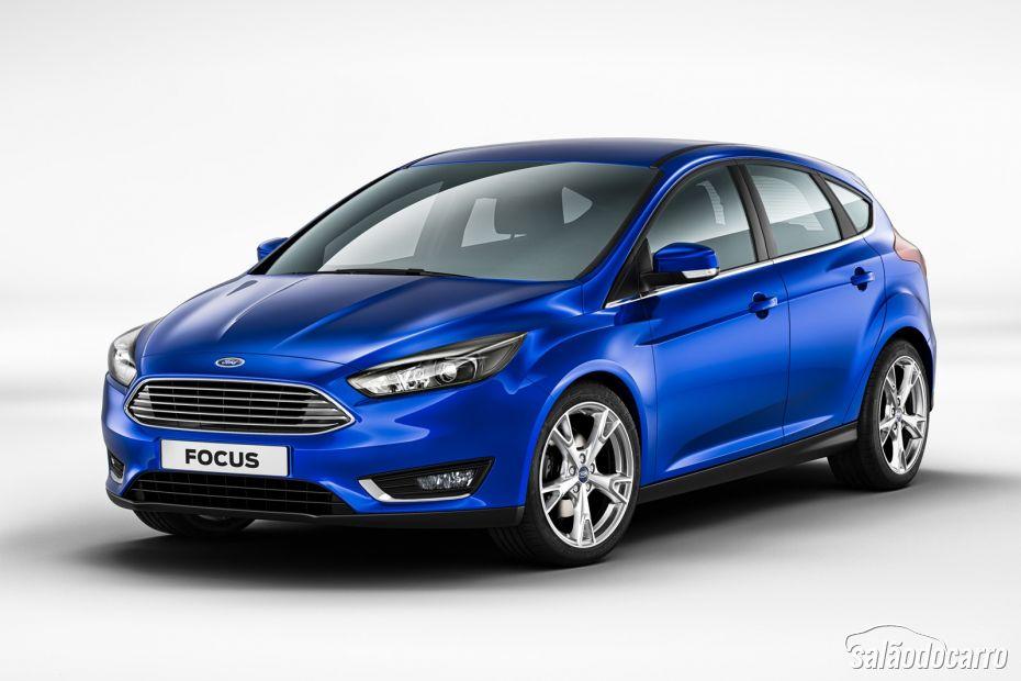 Novo Ford Focus 2015 é revelado antes do Salão de Genebra