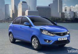 Tata Motors apresenta sedan Zest no Salão de Nova Déli