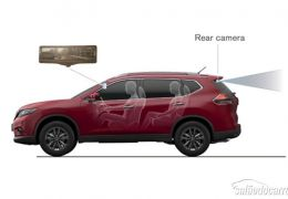 Como funciona o retrovisor inteligente de LCD da Nissan?