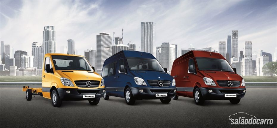 Gerente de marketing da Mercedes-Benz Sprinter, fala das perspectivas de crescimento do modelo