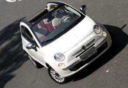 Teste do Fiat 500 Cabrio