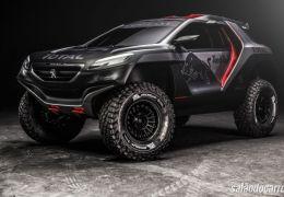 Peugeot apresenta 2008 DKR para Rali Dakar
