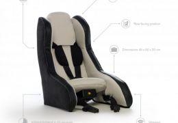 Volvo prepara assento inflável para carros