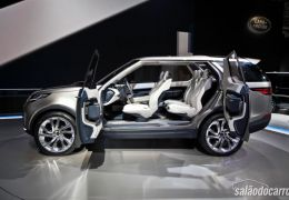 Land Rover mostra Discovery Vision Concept ao público
