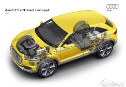 Audi TT Offroad é apresentado no Salão de Pequim